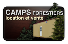 Location et vente de camps forestiers
